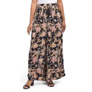 FREE PEOPLE Wide Leg Bali Wildflower Pants